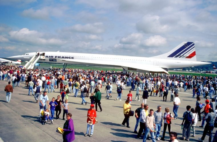 Celebrating 50 years since Concordes first UK Flight