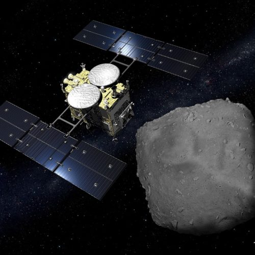 Japanese Space Agency bomb asteroid