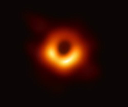 How to Understand the first image of a black hole