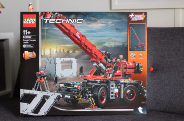 engineering careers  Win – LEGO Technics Rough Terrain Crane