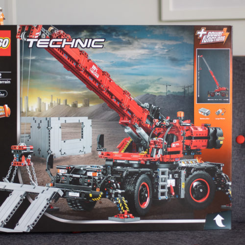Just 5 Days to Go On Our LEGO Rough Terrain Crane