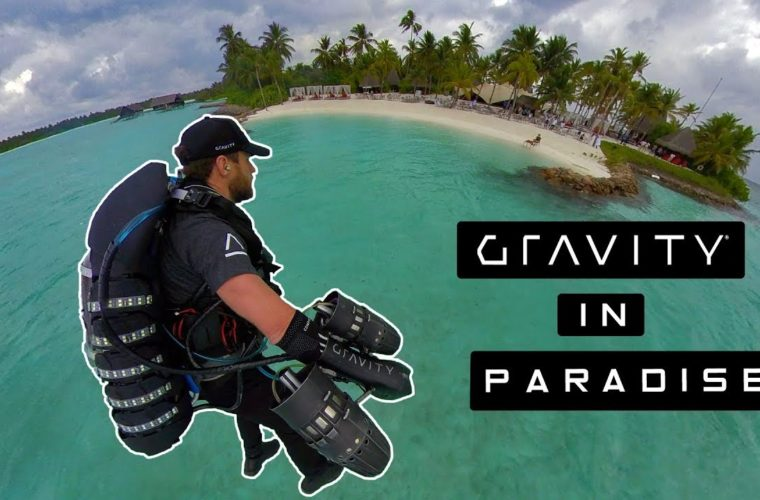 Gravity Jet Suit Get Fired Up in the Maldives