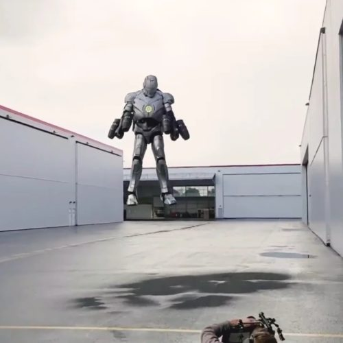'Mythbuster' Adam Savage & Richard Browning create an actual flying Iron Man suit