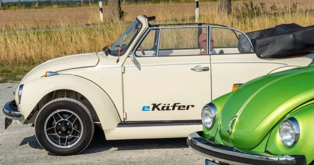 Volkswagen Can Now Convert Your Classic Beetle to Electric