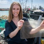 Fish scale bioplastic nets UK James Dyson Student Award