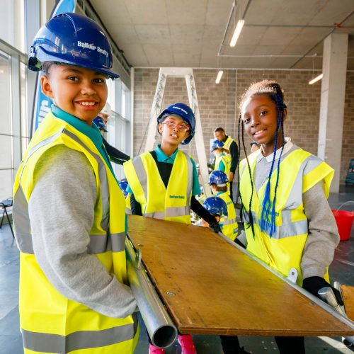 Building bridges - Students become engineers for the day at Queen Elizabeth Olympic Park