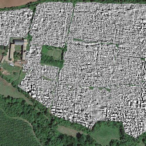 Ground-Penetrating Radar Maps Entire Ancient Roman City