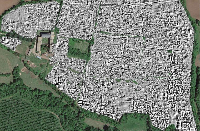 Ground-Penetrating Radar Maps Entire Ancient Roman City