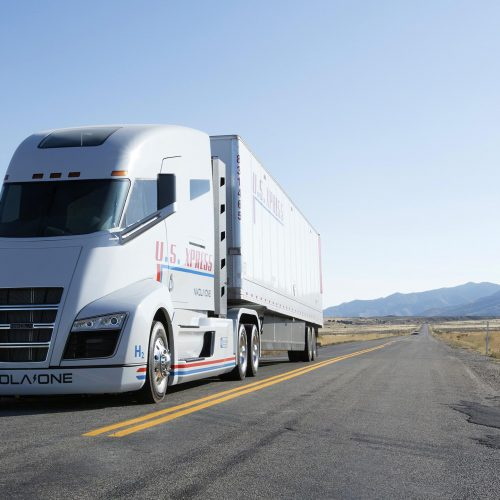 EV startup admits rolling its semi truck prototype down a hill because it couldn't drive