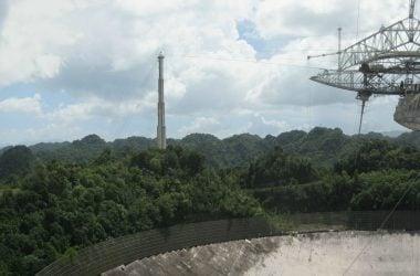 engineering careers  SETI Telescope Completely Collapses