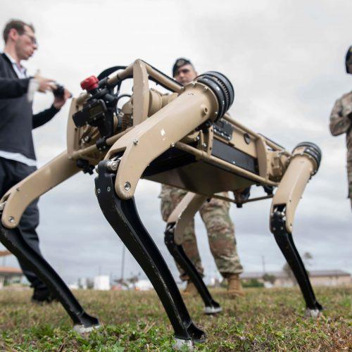 Meet the USAF robot dogs