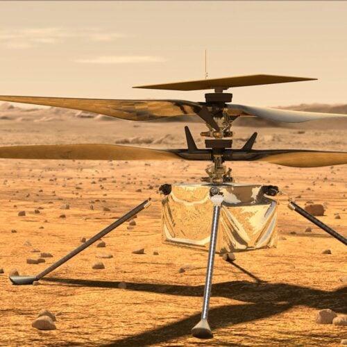 Ingenuity Mars helicopter sends positive status update