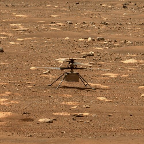 Watch Live - First Flight of the Ingenuity Mars Helicopter