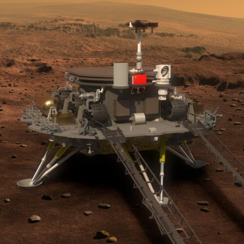 Zhurong - How the Chinese lander will attempt to touch down on Mars