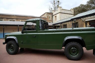 engineering careers  Prince Philip's funeral hearse is a modified Land Rover Defender