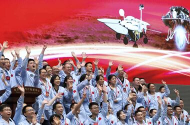 engineering careers  China touches down on Mars for first time