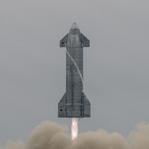 SpaceX Starship touches down safely