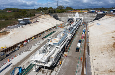 engineering careers  HS2 launches Florence – first giant tunnelling machine