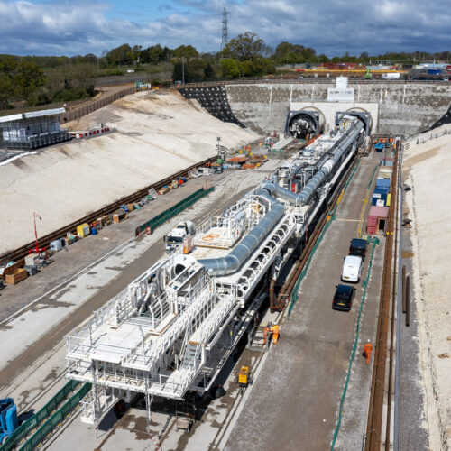 HS2 launches Florence - first giant tunnelling machine