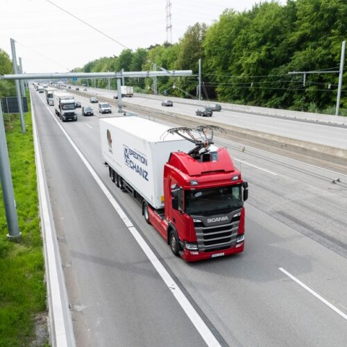 eHighway – Government supports Electrics Roads