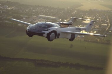 engineering careers  Flying car completes first ever city-to-city flight
