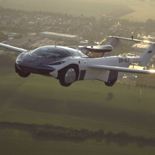 Flying car completes first ever city-to-city flight